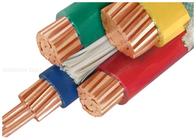 di buona qualità cavo elettrico isolato XLPE & cavi isolati PVC del conduttore del rame 1000V su misura con il mezzo centro tre in vendita